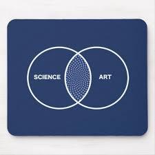 Artist Venn Diagram Science Art Venn Diagram Mouse Pad
