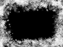 black and white snowflake border. Beautiful Border Picture Black And White Stock Border Frame Transparent Png Clip Art Inside Black And White Snowflake