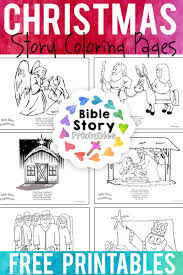 Coloring pages holidays nature worksheets color online kids games. Christmas Bible Coloring Pages Bible Story Printables