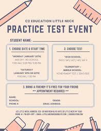 Jan 20 | Free Testing Event (PSAT/SAT/ACT/AP/SSAT/ISEE/SHSAT ...
