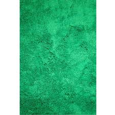 micro fiber kelly green 5 ft x 7 ft rectangle area rug