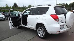 2007 Toyota RAV4, Blizzard White Pearl - STOCK# 14-2082A - Walk ...