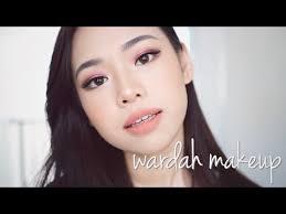 wardah one brand makeup tutorial review 2018 molita lin