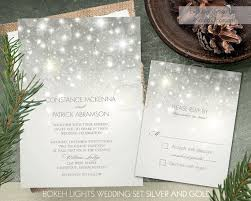 best 25 winter wedding invitations ideas only on pinterest Buy Evening Wedding Invitations this beautiful bokeh lights printable wedding invitation set is decorated with bokeh lights that sparkle on Luau Wedding Invitation Templates