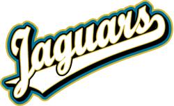 Team Pride: Jaguars team script logo