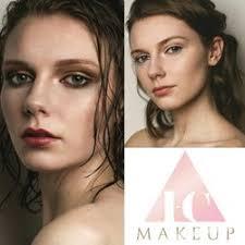 photo of i c makeup glasgow united kingdom i c makeup logo and work