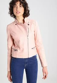 pepe jeans abbi leather jacket powder pink women clothing jackets pepe jeans t shirt pepe jeans glasses uk factory