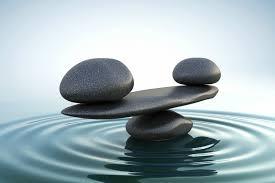 Feng Shui stones in water balancing