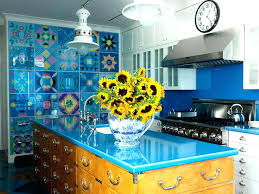 Colorful Kitchen Ideas Colorful Kitchen Kitchen Island Painted Magnificent Colorful Kitchen Ideas
