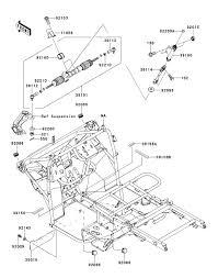 Kawasaki mule 610 wiring diagram 4 xc kaf 400 dff frame parts best bright