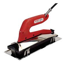 carpet installation tools list. deluxe heat bond carpet iron with non-stick grooved base installation tools list