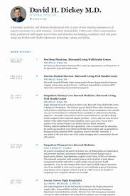 Internal Medicine Resume Sample Best Of Physician Resume Samples