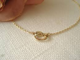 tiny gold knot necklace simple handmade jewelry everyday bridal jewelry wedding bridesmaid tie the knot flower girl best friend gift