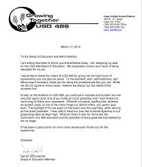 Thank You Letter To Board Member Gallery - Letter Format Examples