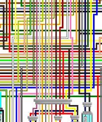 suzuki gsx k k uk spec colour wiring loom diagram suzuki gsx1400 k5 k6 uk spec colour wiring diagram