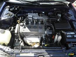 1997 Toyota Corolla DX 1.8 Liter DOHC 16-Valve 4 Cylinder Engine ...