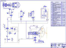 """Курсовая работа на тему """"Разработка гидропривода агрегатного  Курсовая работа на тему """"Разработка гидропривода агрегатного станка"""""""