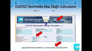 Cultec Stormwater Design Calculator Hydrocad Webinar 411 Modeling Cultec Stormwater Chambers In Hydrocad