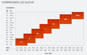 2xu Compression Socks Size Chart Elite Mcs Compression Calf Guards