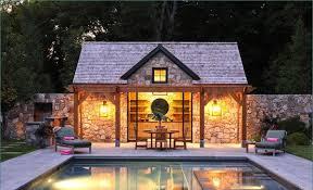 pool house ideas. Stone Pool House Ideas S