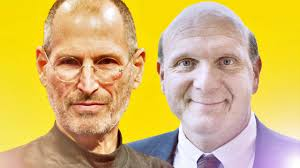 steve vs steve jobs ballmer in a leadership smackdown