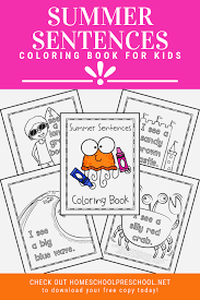Then check out these 12 free printable summer coloring pages for kids of any age. Free Printable Summer Coloring Pages For Preschoolers