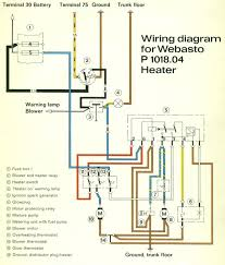 porsche 911 electrical diagrams 1965 1989 webasto heater wiring diagram
