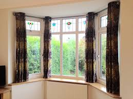 how to put eyelet curtains in bay window boatylicious org
