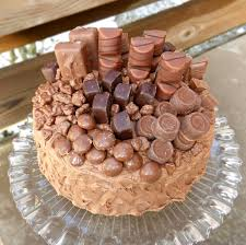 Overload Layer Cake with Nutella Cream Cheese Frosting