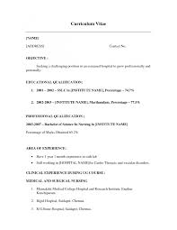 working holiday resume format cipanewsletter how to write a resume little or no job experience no work