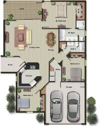 i will draw architectural 2d drawings in autocad color floor plan