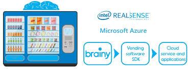 Vending Machine Sales Data Simple Intelligent Vending Machine AAEON Has Provided An Intelligent
