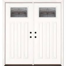 home depot front entry doorsBeach Style  Double Door  Front Doors  Exterior Doors  The
