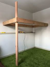 process of leveling a hanging bed