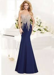 Best Designer Formal Dresses Famous Designer Evening Dress Mermaid Dark Royal Blue Formal