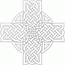 Celtic Cross Coloring Pages Coloring Stylizr