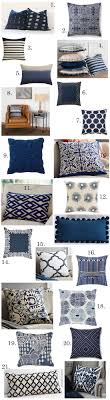 Colors That Go with Navy Blue. Navy Blue Throw PillowsBrown ...