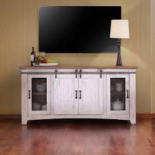 image of rustic farmhouse tv stand