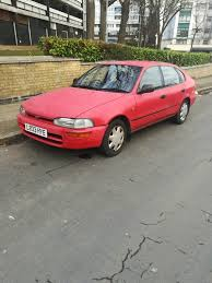 Toyota corolla old shape car long mot and taxed ready to drive 5 ...