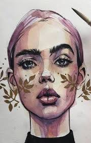 Trendy drawing woman easy 35 Ideas   Art drawings, Woman drawing, Art drawings sketches