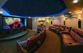 home movie theater design. circular home theater in basement of movie design d