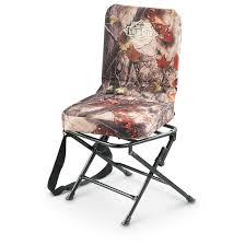 guide gear camo swivel hunting chair