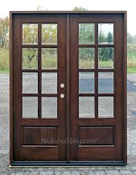 residential double front doors. exterior double front doors mahogany french 8 lite wood . residential o