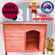 extra large pet dog house timber wooden kennel cabin log storage box cedar wood