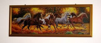 how to frame a jigsaw puzzle horses on the wall diy home project on puzzle into wall art with how to frame a jigsaw puzzle horses on the wall diy home project