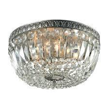 semi flush mount crystal chandelier crystal flush mount chandelier with beaded nerisa 4 light chrome semi