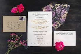 Austen kopley, barnard & westwood's managing director, said in a release, the wedding of prince harry and ms. Royal Wedding Invites See What Invitation Designers Would Have Done Differently Bizbash