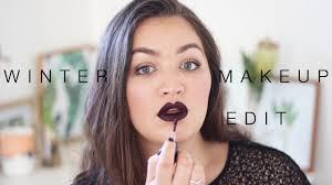 winter makeup edit mac high drama liquid lipstick lece taylor you