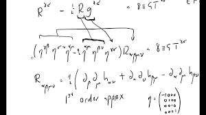 gw 006 linearized einstein field equations part one