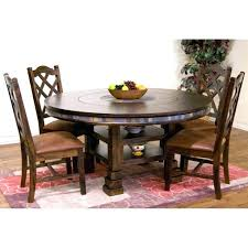 lazy susan for dining table dark wood turntable round chocolate humble abode kitchen